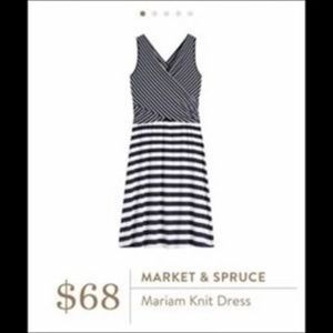 NEW Stitch Fix Market & Spruce sleeveless Dress XS